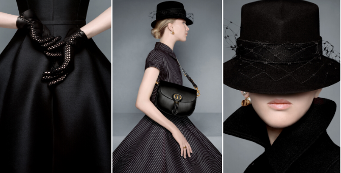 Can you spot Dior's new Bobby bag in its Fall '20 campaign starring Jennifer Lawrence?