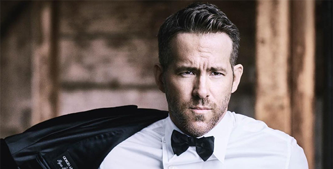 Ryan Reynolds is the new face of Giorgio Armani