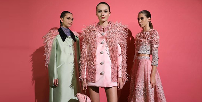 Three Middle Eastern designers stole the spotlight at Paris Haute Couture Fashion Week