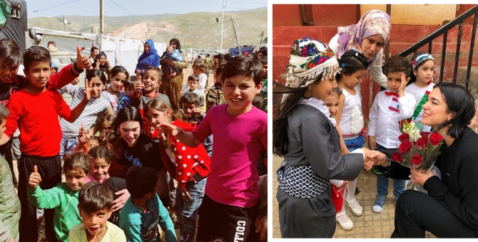 "Dua Lipa had an ""eye-opening\"" experience at some refugee settlements in Lebanon"
