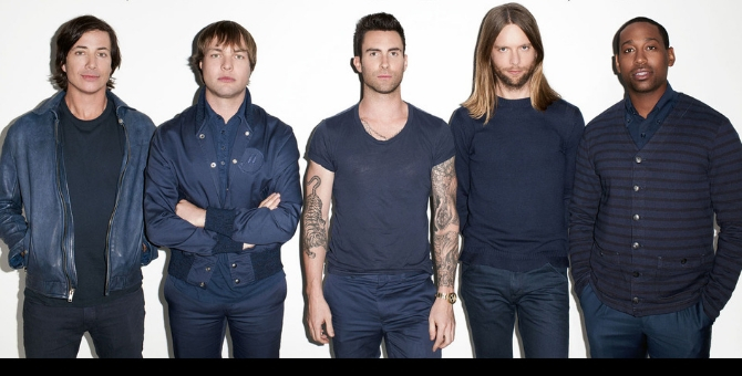 It's official: Maroon 5 are coming to Dubai