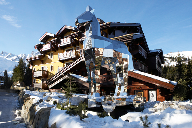 Fendi celebrates International Women's Day at Cheval Blanc Courchevel