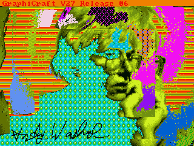 Lost Andy Warhol art recovered from a 1980 Amiga computer