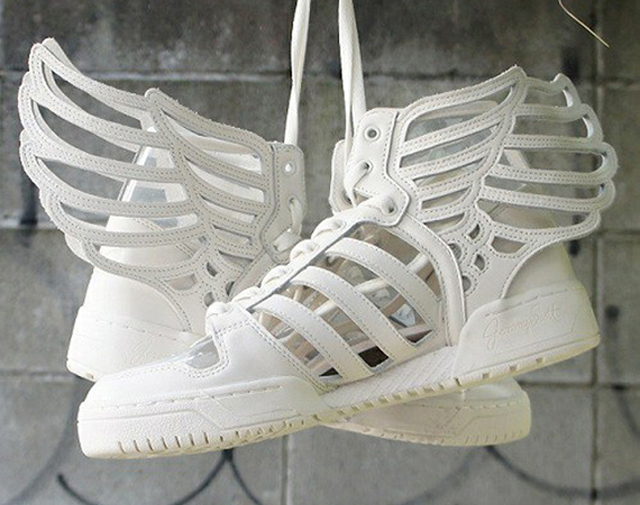 Jeremy Scott x Adidas Originals Wings 2.0 Cut Out Available