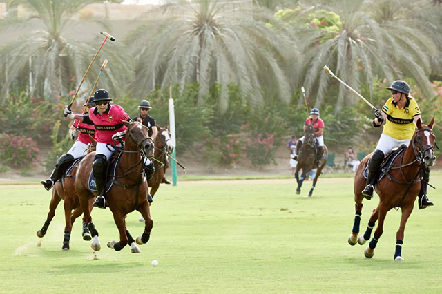 Watch now: The 2014 Ralph Lauren International Ladies Polo Tournament highlights