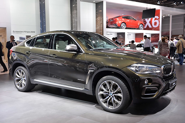 Paris Motor Show 2017 The New Bmw X6