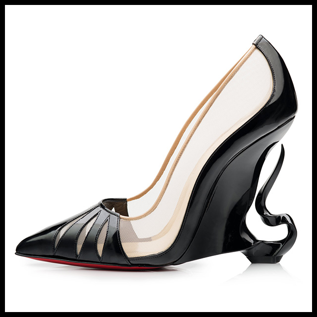 b03f76ef89e Angelina Jolie and Christian Louboutin collaborate on collection
