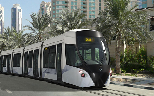 Dubai Marina's tram system drives closer to launch