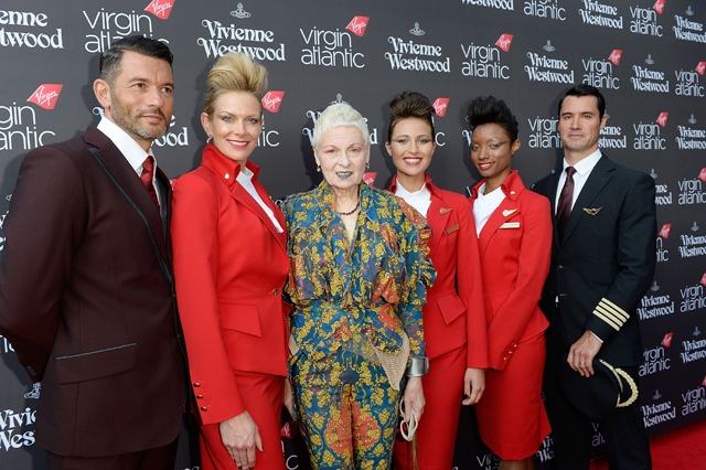 Virgin Atlantic celebrates Vivienne Westwood partnership
