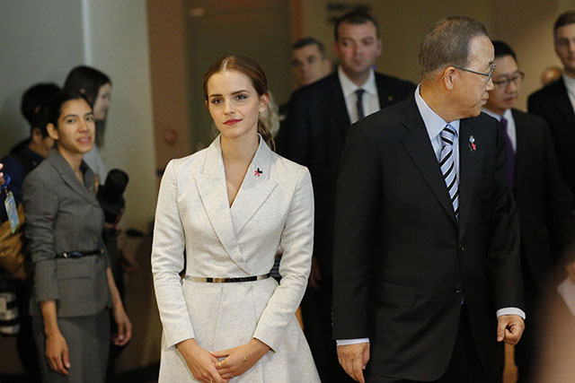 Emma Watson gives inspiring speech for United Nations