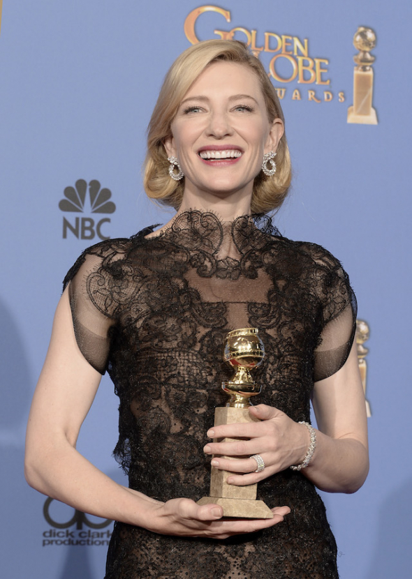 The winners: Golden Globes 2014