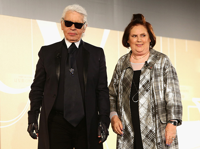 Karl Lagerfeld and Apple talk tech at the Condé Nast International Luxury Conference