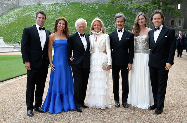 Ralph Lauren honoured at Windsor Castle by Royal Marsden Cancer Charity