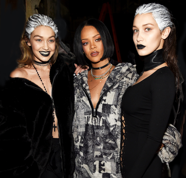 New York Fashion Week: The guests at Rihanna's Fenty x Puma
