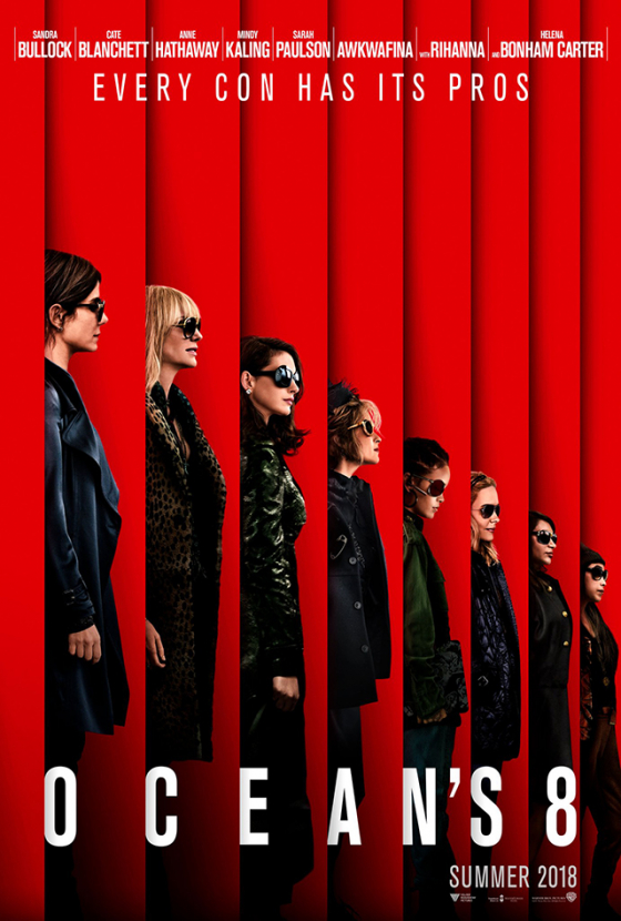 Watch now: The first official Ocean's 8 trailer is here