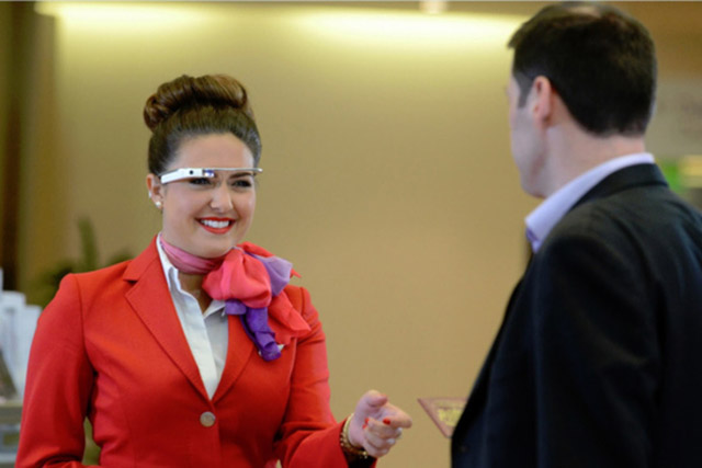 Virgin Atlantic offers select passengers Google Glass and Sony Smartwatch services