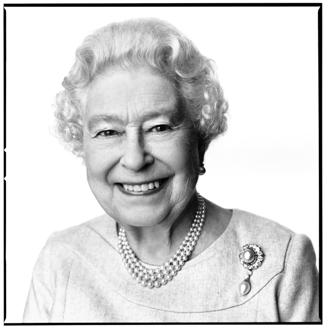 David Bailey shoots the Queen of England for her 88th birthday