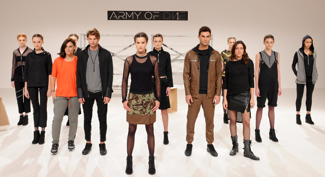 Fashion Forward Dubai: Army of 1 Fall/Winter '16