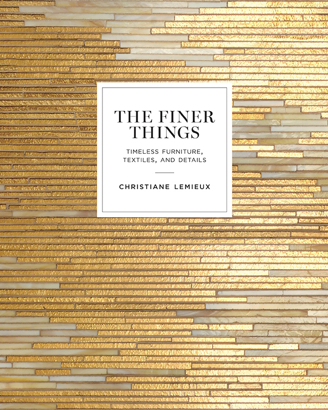 Book of the week: The Finer Things