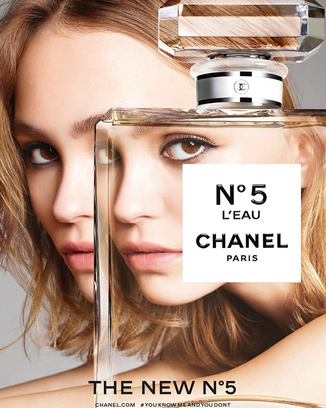 First look: Lily-Rose Depp for Chanel N°5 L'EAU