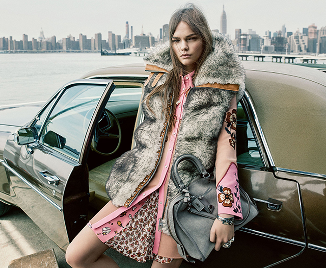 A New York moment: Coach's Fall/Winter '16 campaign