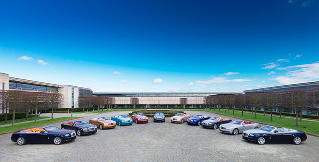 Rolls-Royce's Goodwood HQ: Step into the home of luxury ...