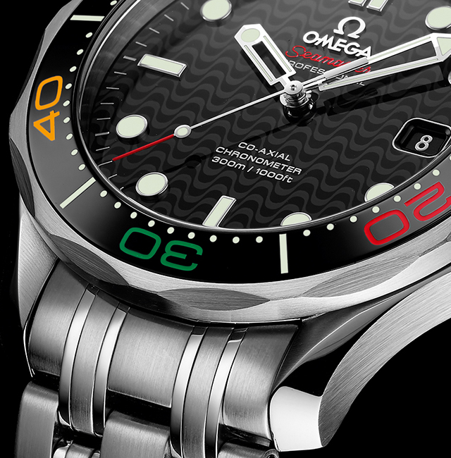 A look at OMEGA's Rio Olympics limited edition watches