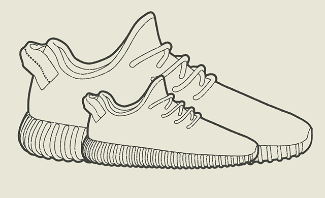 Level Shoes exclusive: Mini Yeezy sneakers