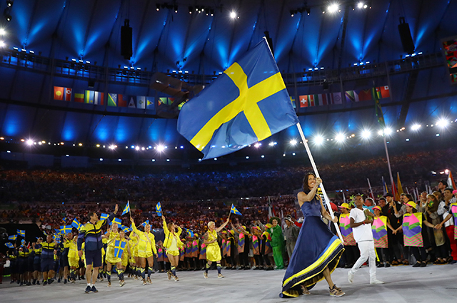 Sweden and H&M go green with Olympic uniforms
