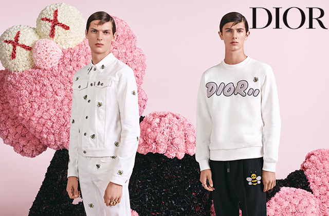 Kim Jones reveals debut campaign for Dior Homme
