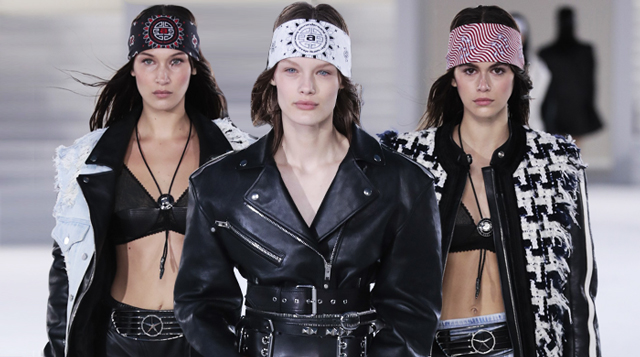Alexander Wang just unveiled his latest Collection 1 range in New York