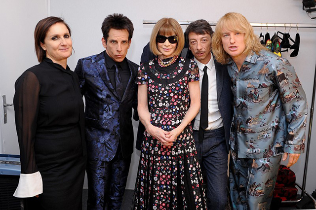 Watch now: Anna Wintour talks fashion with Derek Zoolander and Hansel McDonald