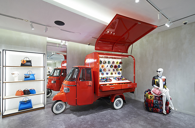 Luxury road trip  The Fendi travelling pop-up store  f63a7bd4f417