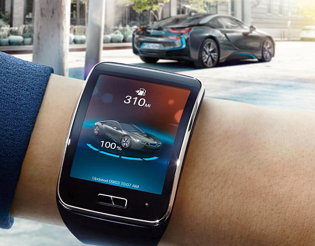 Introducing the BMW driverless smartwatch