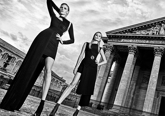 Balmain's new FW17 campaign, shot by Olivier Rousteing