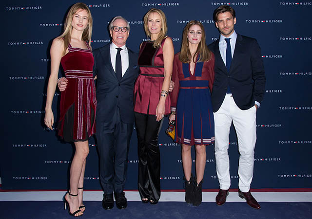 Tommy Hilfiger hosts party to celebrate new Paris flagship store opening