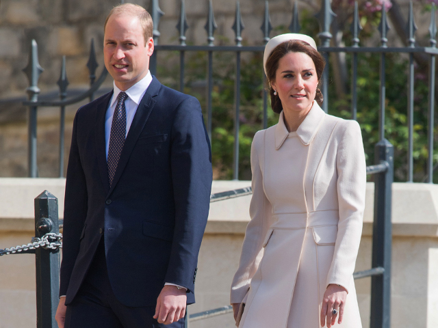 Must-see: Duke and Duchess of Cambridge on Easter Sunday