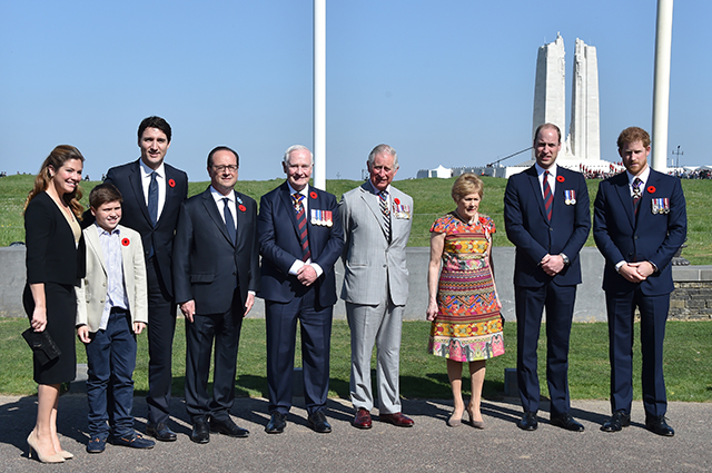 British royals and world leaders gather for centenary memorial