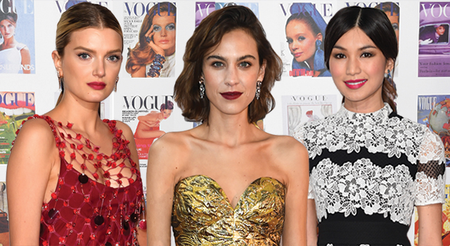 The Vogue 100 gala dinner: Red carpet arrivals