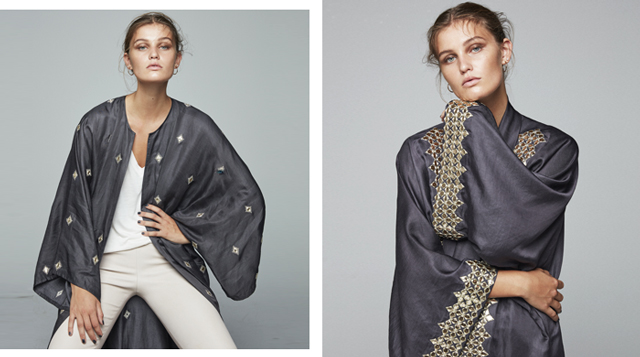 Omani label Bthaina debuts new abaya collection for F/W'18