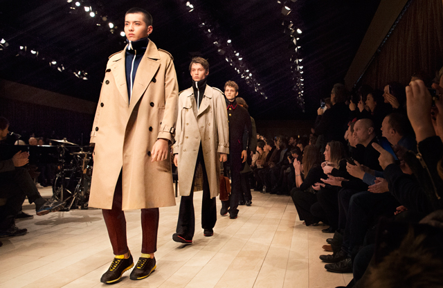 London Men's Collections: Burberry Fall/Winter '16
