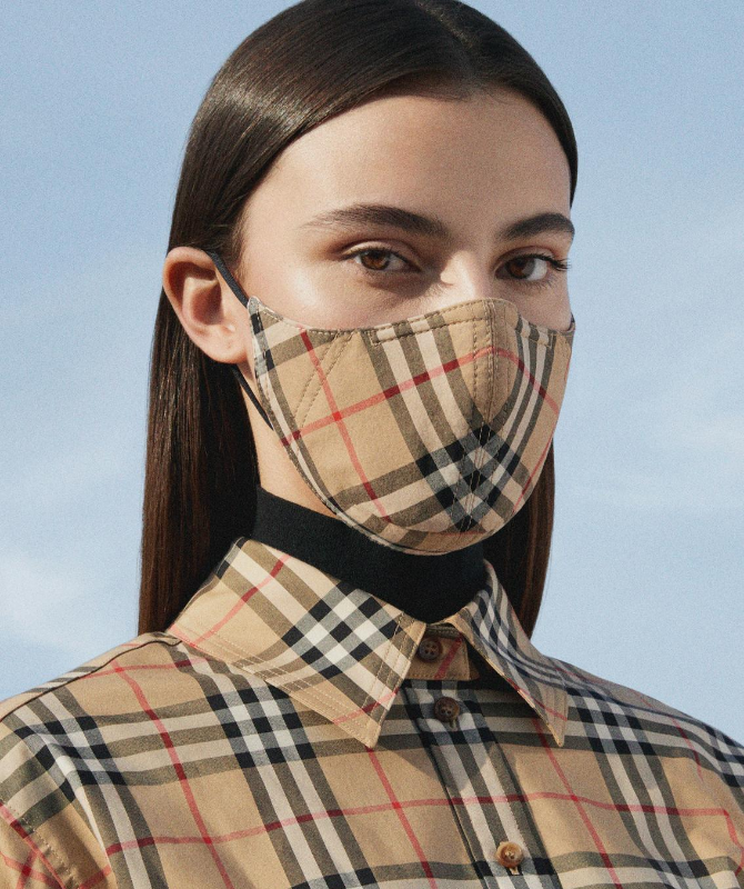 Burberry launches reusable face masks