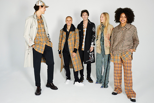 Part two: Adwoa Aboah and Juergen Teller for Burberry