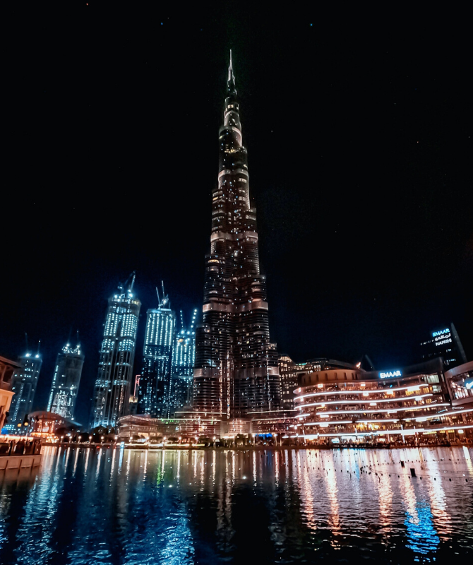 You can now buy a light on the Burj Khalifa and it's for a good cause