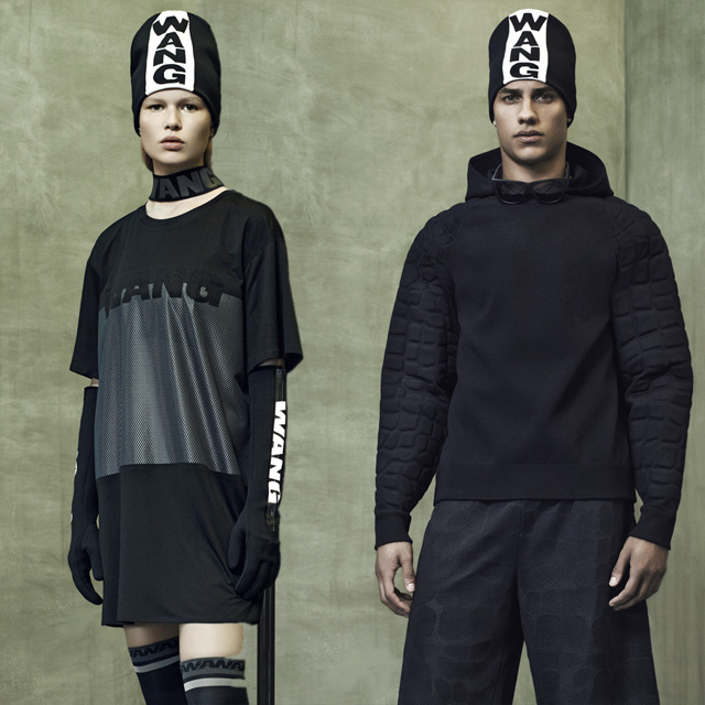 Full look: The Alexander Wang x H&M look book