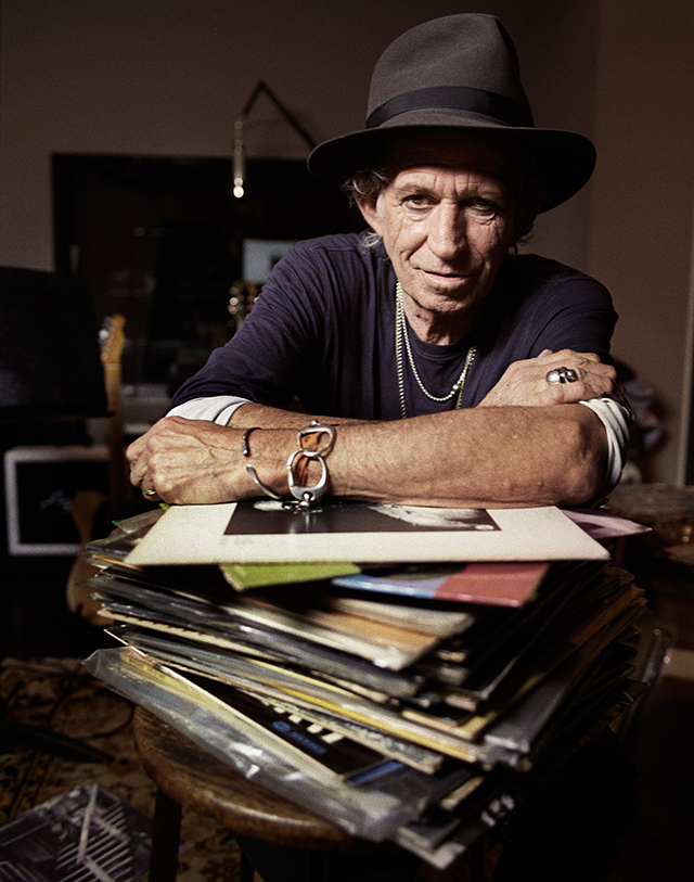 Keith Richards completes solo album and launches children's