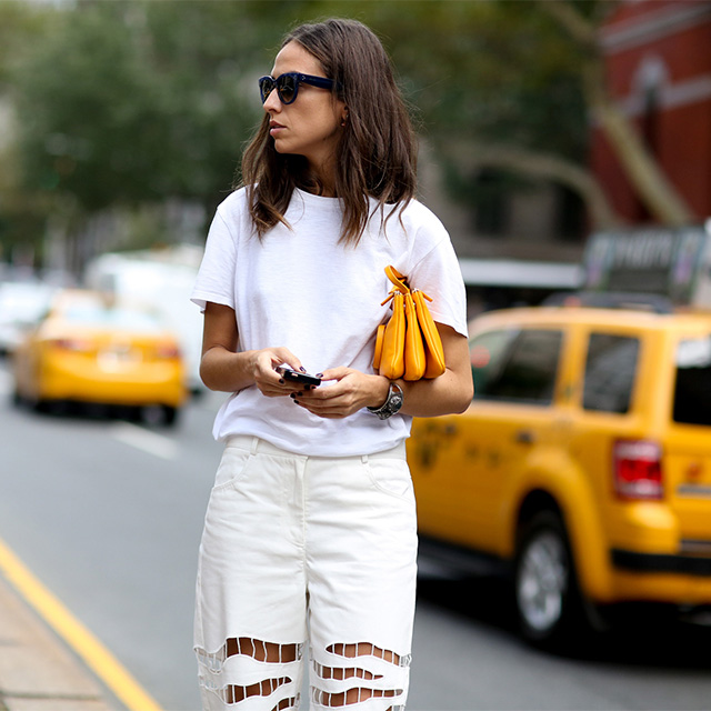 New York Fashion Week SS15 Street Style: Part V