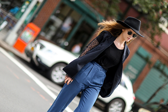 New York Fashion Week SS15 Street Style: Part IV