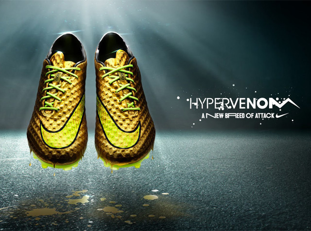1bee5e15b Neymar Jr. and Nike introduce Gold Hypervenom special edition