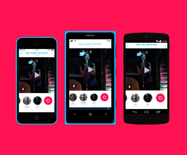Skype launches new app to rival Snapchat